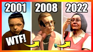Evolution of GRANDMAS LOGIC in GTA Games (2001-2020)