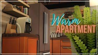 Теплая квартира I Строительство I Warm Apartment SpeedBuild I No CC [The Sims 4]