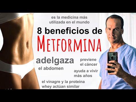 Cual es la mejor metformina para bajar de peso