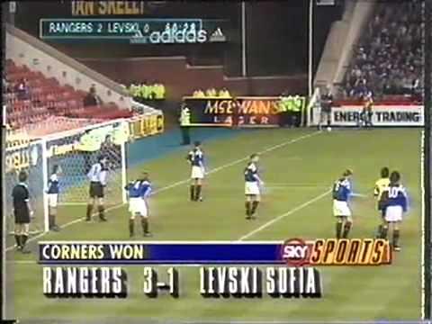 Rangers - Levski. Levski - Rangers. EC-1993/94 (3-2, 2-1)