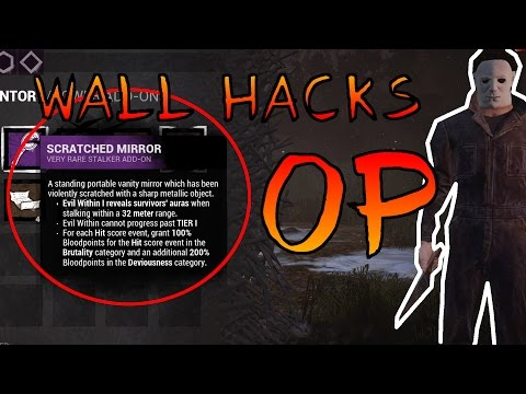 Dead By Daylight Wall Hacking | Micheal Myers Gameplay | Overpowered Add-On