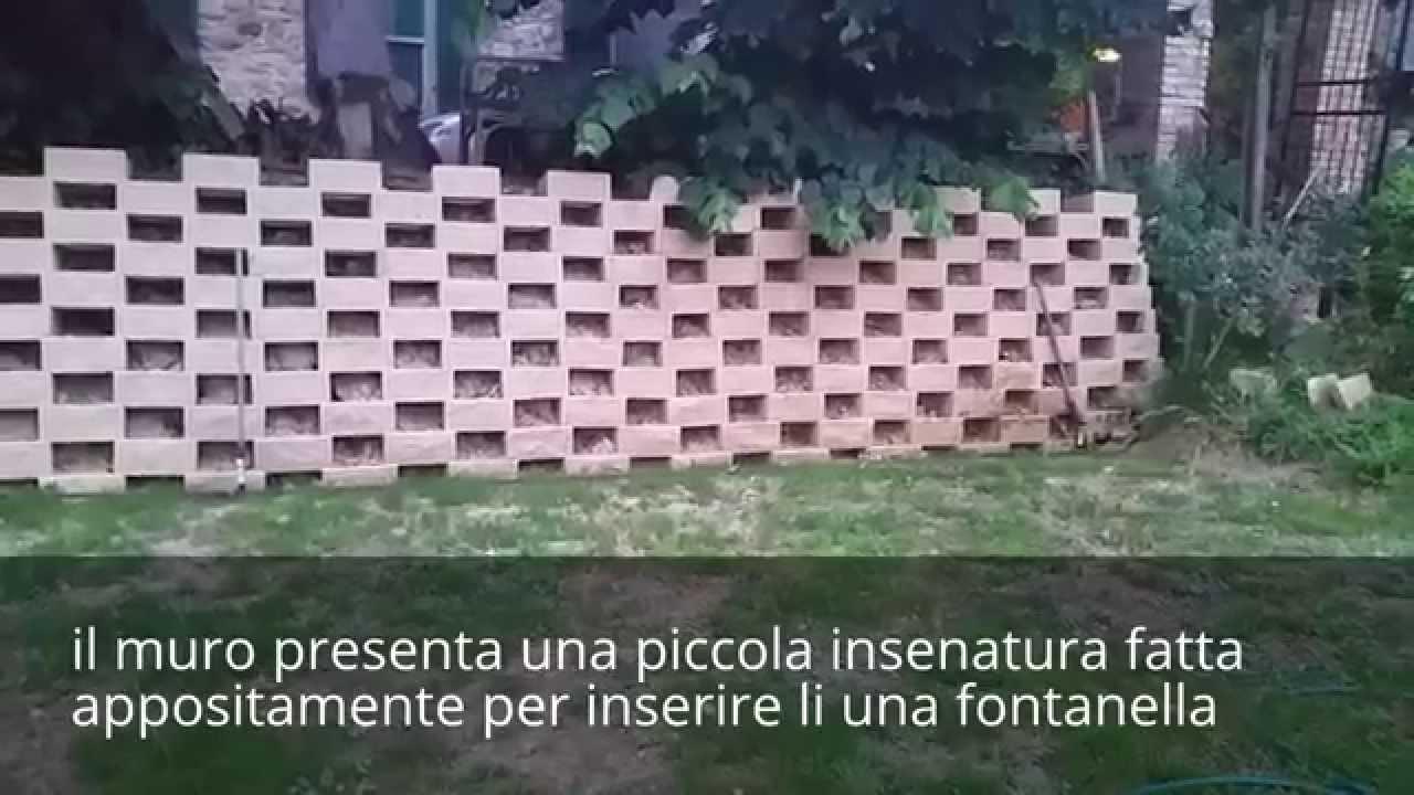 Come Costruire Un Muro Di Contenimento Con Il Sistema Splitflower