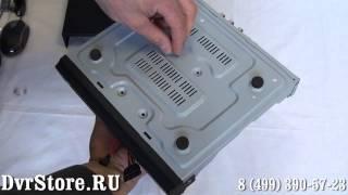 Як встановити HDD реєстратор gtr-41rt