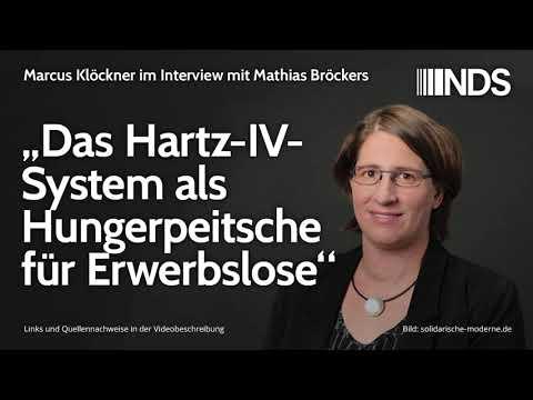 """""""Das Hartz-IV-System als Hungerpeitsche für Erwerbslose""""   Interview mit Katrin Mohr"""