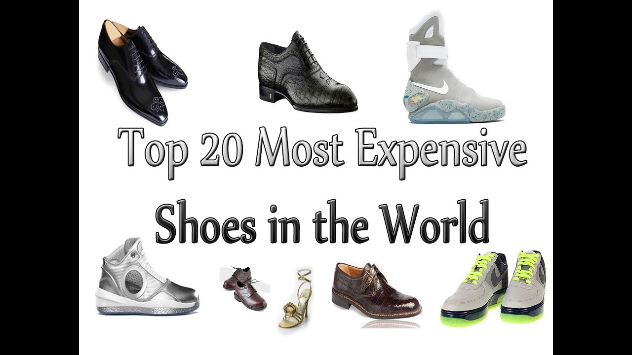 ba92595da12 Top 20 Most Expensive Shoes in the World - YouTube