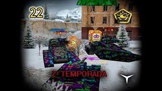 22.Un día repleto de CAJAS DORADAS (Tanki Online - Temporada 2) // Gameplay