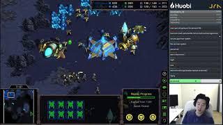 Jaeyun 39 s Starcraft Series Ep 6 Protoss vs Terran w Nyoken Gypsy