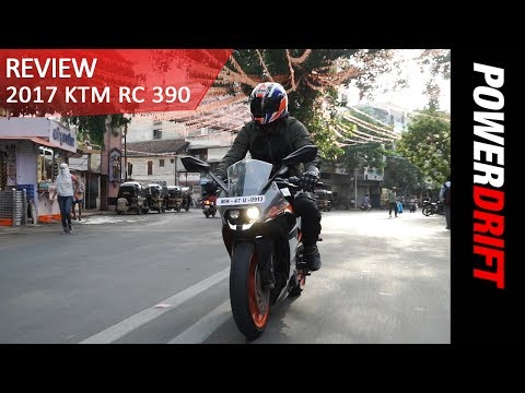 2017 KTM RC 390 : The Good and The Bad : PowerDrift