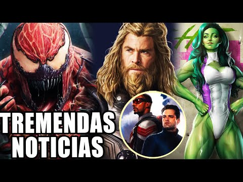 Venom 2 Trailer, Mark Ruffalo en She-Hulk, Guardianes de la galaxia en Thor Love and Thunder y Más