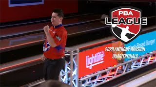 2020 PBA League 1 of 6 | Anthony Division Quarterfinals | Full PBA Bowling Telecast