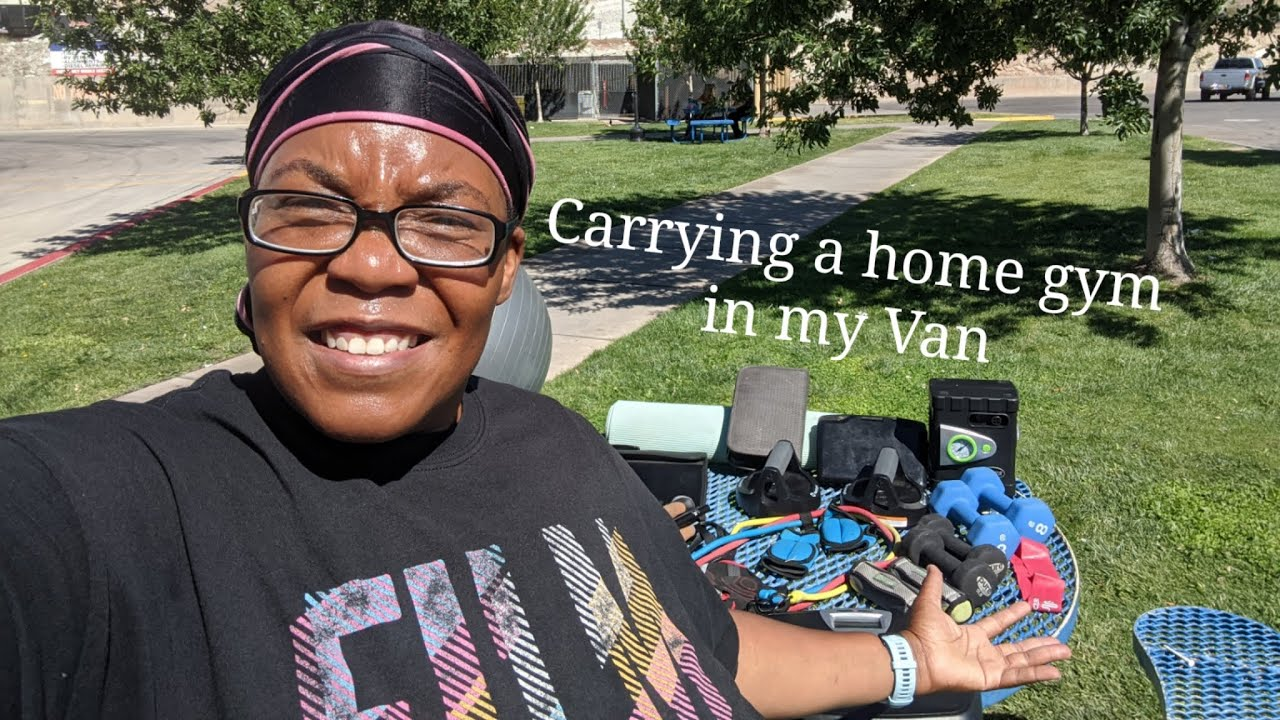 """Vanlife Fitness Journey   Can you have a """"home gym"""" in a Van?"""