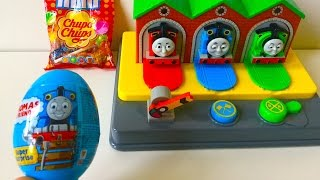 Thomas and Friends Pop Up Surprise Egg and Chupa Chups
