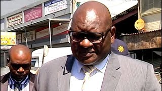 Gauteng Premier visits Alexandra post looting scenes
