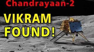 Фото Vikram Lander Found Isro  - Lunar Lander Discovered  Chandrayann 2
