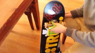 How NOT to set up a SKATEBOARD / PLAN B TRUE , TENSOR TRUCKS , BONES WHEELS 50 MM
