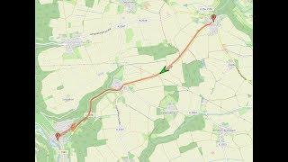 Autofahrt im Hohenloher Land/KÜN: Nesselbach ---:--- Braunsbach