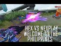 HEX FIRST DAY IN PH SERVER VS NEXPLAY - MOBILE LEGENDS - 1000 DIAMONDS GIVEAWAY - RANK - GAMEPLAY