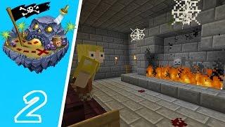 Dansk Minecraft - Døds Øen #2: UHYGGELIGT SLOT!!