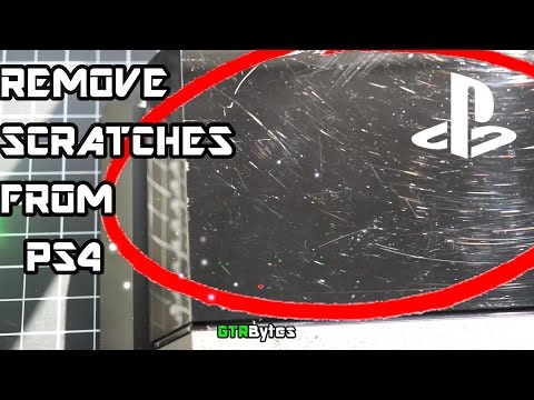 How to Easily Remove Scratches From Your PS4