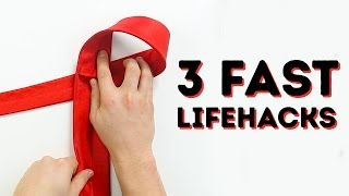 3 fast life hacks that you NEED to know l 5-MINUTE CRAFTS