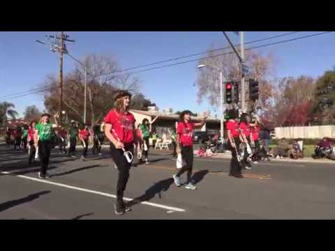 Chino Christmas parade Canyon Hills Junior High School 2018 12 08
