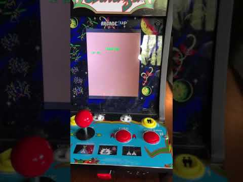 $49 Arcade1up Galaga Mod - working volume and power - additional mapping for 3 action buttons from Towpath Terrors