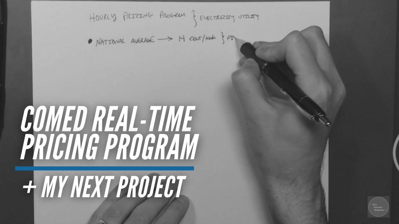 Comed Hourly Pricing >> Project Introduction To Comed Real Time Pricing Program And The