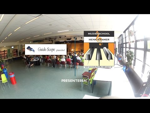 voorspeelmiddag 2016 Muziekschool Kramer en Guido Scope Gitaarschool