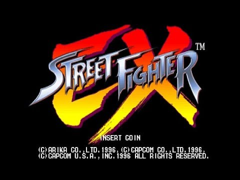 (Arcade) Street Fighter EX Completed 1 Credit, Hardest Difficulty - 1cc w/Zangief 1080p60