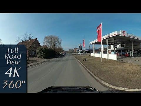 Steinkirchen/Hollern-Twielenfleth (Landkreis Stade), Germany - 4K (3840x1920) 360° Video