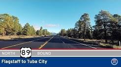 US Highway 89 - Flagstaff to Tuba City (US160) - Arizona |  Drive America's Highways 🚙