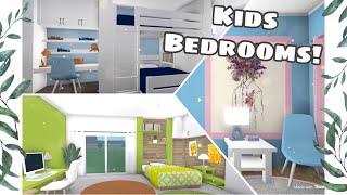 ROBLOX | Bloxburg: Kids Bedroom Designs!