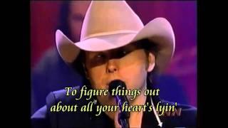 Dwight Yoakam - THINGS CHANGE -KARAOKE (HD)