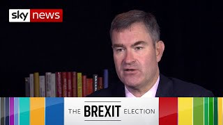 General Election: David Gauke says Boris Johnson is 'not being straight' with voters