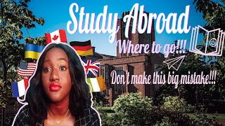 Best Countries For International Students | Study Abroad In USA vs Canada vs UK
