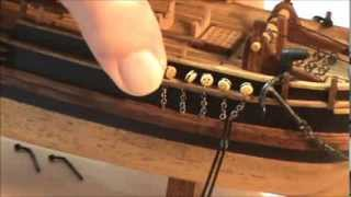 HMS BOUNTY MODEL SHIP PART 8-1