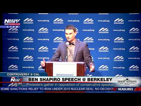 FULL SPEECH: Conservative Ben Shapiro Speaks at UC Berkeley Amid Protests (FNN)