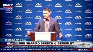 FULL SPEECH: Conservative Ben Shapiro Speaks at UC Berkeley Amid Protests (FNN) thumbnail