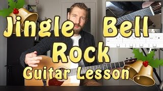 Jingle Bell Rock | How to play it on a guitar!