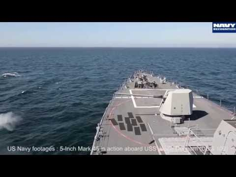 BAE Systems 5-inch Mk 45 main gun for Type 26 Frigate - SAS 2016