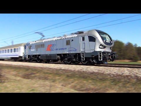 Pesa Gama Marathon z pociągiem PKP Intercity