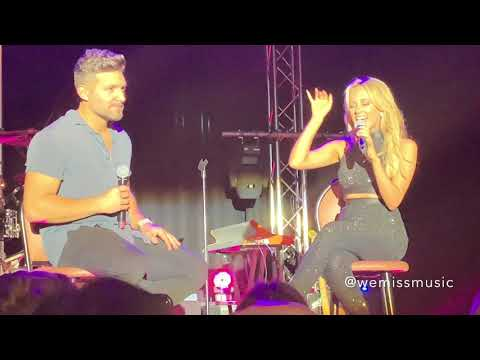 Samantha Jade & Alfie Arcuri - How Deep Is Your Love (Live in Sydney 22/09/2018)