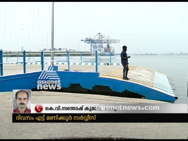 Kochi Ro Ro service will start from Monday onwards