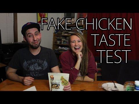 Taste Testing Fake Chicken