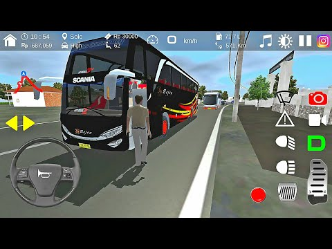 Bejeu SHD In Action - IDBS Bus Simulator V4.0