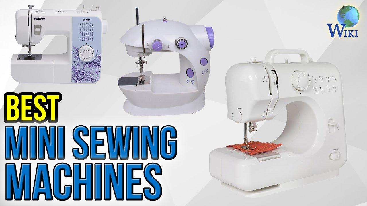 5 Best Mini Sewing Machines 2017 - YouTube