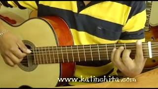 Amada amante - Roberto Carlos - Como tocar en guitarra