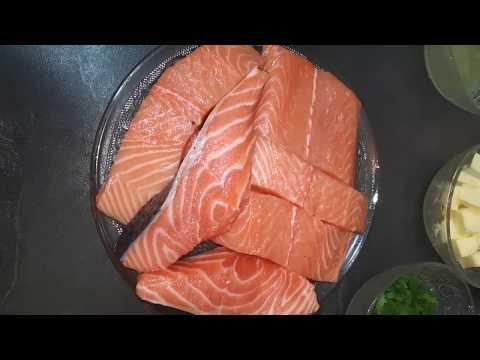recette-saumon-sauce-beurre-ail-persil-et-citron-prÊt-en-20min