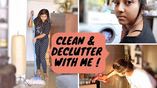 CLEAN, ORGANIZE AND DECLUTTER WITH ME! | Indian Cleaning Routine 2019