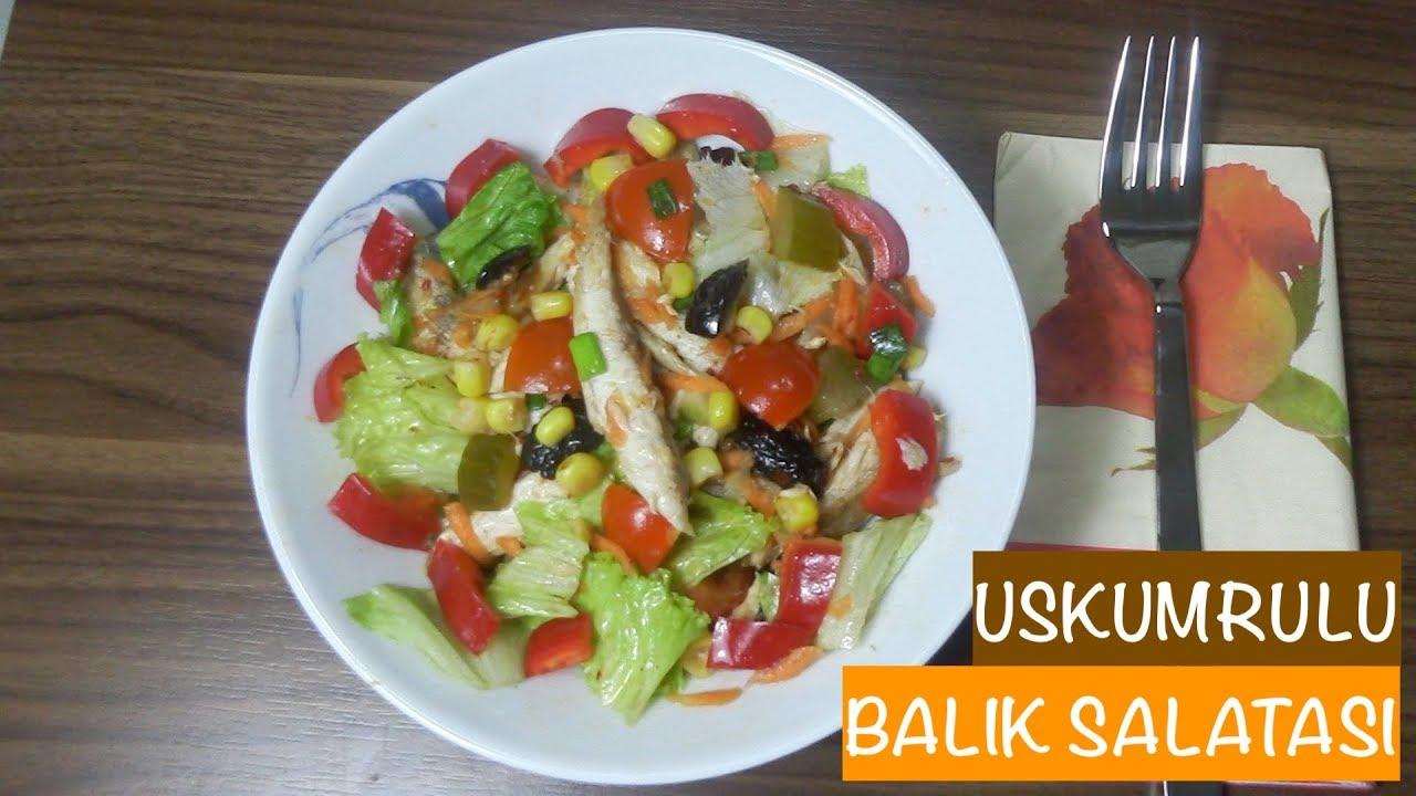 Alabalıklı Patates Salatası Tarifi
